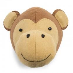 Childhome - Filcowa głowa małpki na ścianę | Esy Floresy