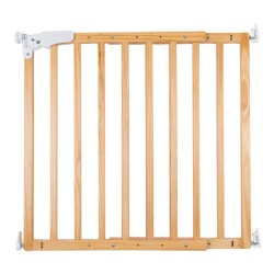 Childhome - Drewniana barierka do drzwi/schodów 73,5 - 104 cm Natural | Esy Floresy