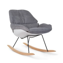 Childhome - Fotel bujany Lounge White/Grey | Esy Floresy