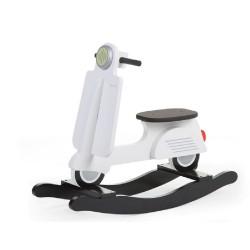 Childhome - Bujak na biegunach skuter Black & White | Esy Floresy