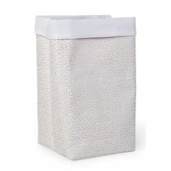 Childhome - Pudełko materiałowe 32x32x60 złote kropki | Esy Floresy