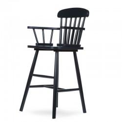 Childhome - Krzesełko wysokie dziecięce Atlas black   Esy Floresy