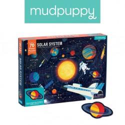 Mudpuppy - Puzzle Układ Słoneczny z elementami w kształcie planet 5+ | Esy Floresy