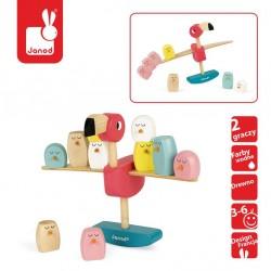 Janod - Gra balansowa drewniana Flamingi | Esy Floresy