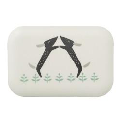 Fresk - Bambusowe pudełko śniadaniowe Piesek | Esy Floresy