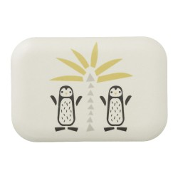 Fresk - Bambusowe pudełko śniadaniowe Pingwin | Esy Floresy