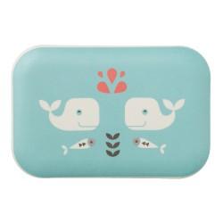 Fresk - Bambusowe pudełko śniadaniowe Wieloryb | Esy Floresy