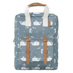 Fresk - Plecak Wieloryb niebieski | Esy Floresy