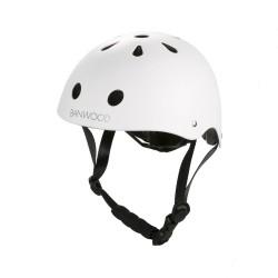 Banwood - Dziecięcy kask rowerowy white | Esy Floresy