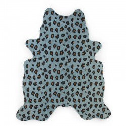 Childhome - Dywan Leopard 145x160 blue | Esy Floresy