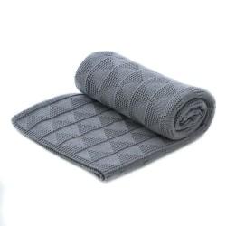 My Bag's - Kocyk bawełniany grey | Esy Floresy