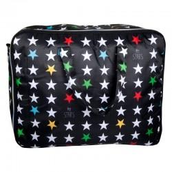 My Bag's - Torba Weekend Bag My Star's black   Esy Floresy