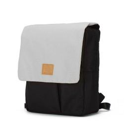 My Bag's - Plecak Reflap eco black/grey   Esy Floresy
