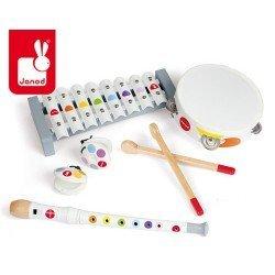 Janod - Zestaw instrumentów Confetti | Esy Floresy