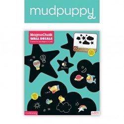 Mudpuppy -  Naklejki magnetyczne - tablice kredowe Niebo | Esy Floresy
