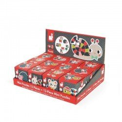 Janod - Mini puzzle Baby Forest   Esy Floresy
