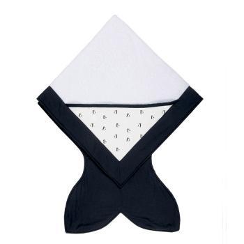baby-bites-recznik-z-kapturkiem-88-x-88-cm-penguins-black