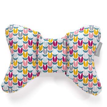 beztroska-poduszka-motylek-geometric-flowers