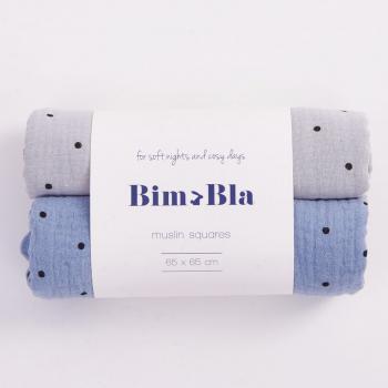 bim-bla-zestaw-pieluszek-muslinowych-w-kropeczki-szaro-niebieski