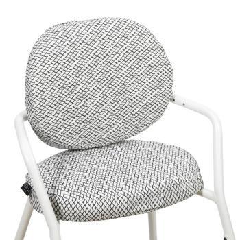 charlie-crane-ochraniacz-do-krzeselka-tibu-diamond-black-white