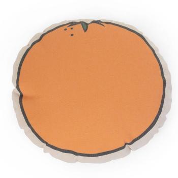 childhome-poduszka-kanwas-pomarancza
