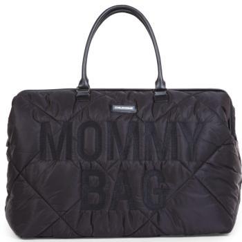 childhome-torba-mommy-bag-pikowana-czarna