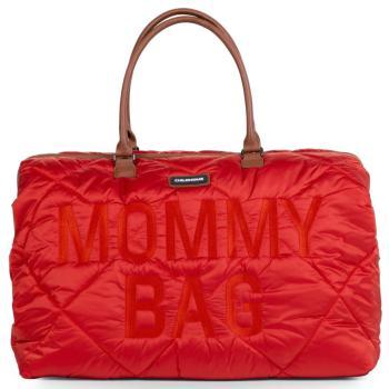 childhome-torba-mommy-bag-pikowana-czerwona