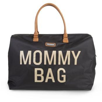 childhome-torba-podrozna-mommy-bag-czarno-zlota