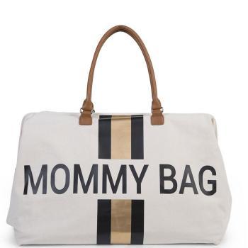 childhome-torba-podrozna-mommy-bag-paski-czarno-zlote
