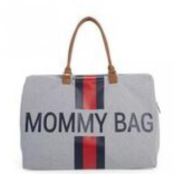 childhome-torba-podrozna-mommy-bag-paski-granatowo-czerwone