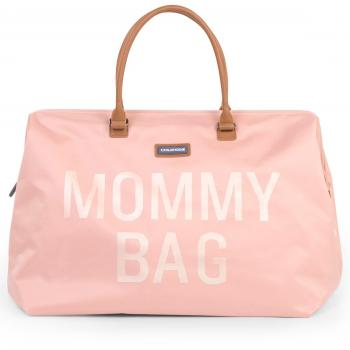 childhome-torba-podrozna-mommy-bag-rozowa