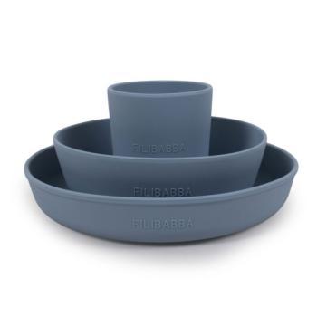 filibabba-silikonowy-zestaw-obiadowy-powder-blue