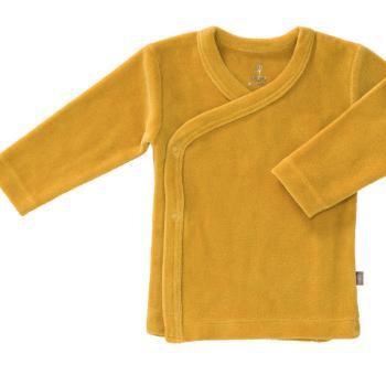 fresk-kardigan-welurowy-6-12-miesiecy-mimosa-yellow