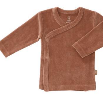 fresk-kardigan-welurowy-6-12-miesiecy-tawny-brown