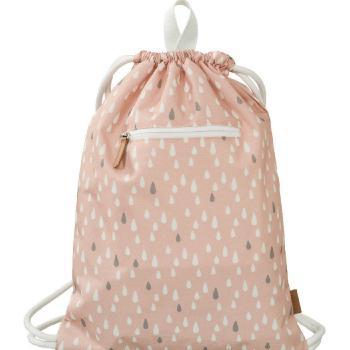 fresk-plecak-worek-kropelki-pink