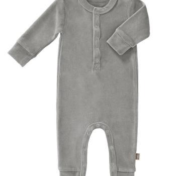 fresk-rampers-welurowy-0-3-miesiecy-paloma-grey
