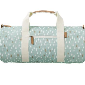 fresk-torba-weekend-bag-kropelki-blue