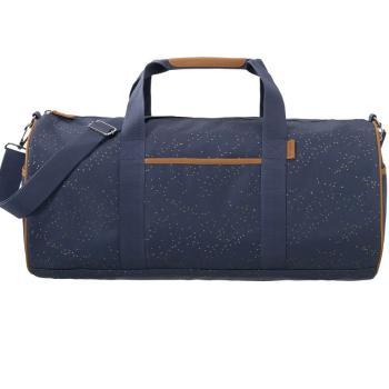 fresk-torba-weekender-bag-zlote-kropki-indigo