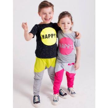 holo-kids-rozowoszare-spodnie-kropki-110
