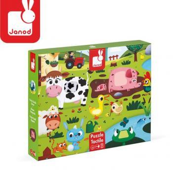 janod-puzzle-sensoryczne-20-elementow-farma