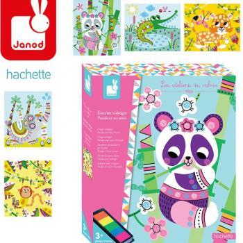 janod-zestaw-kreatywny-kolorowy-tusz-panda-i-przyjaciele
