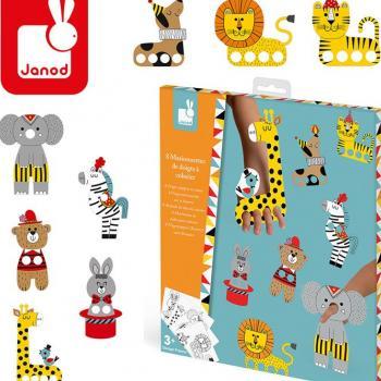 janod-zestaw-kreatywny-papierowe-marionetki-na-palce-cyrkowe-zwierzeta