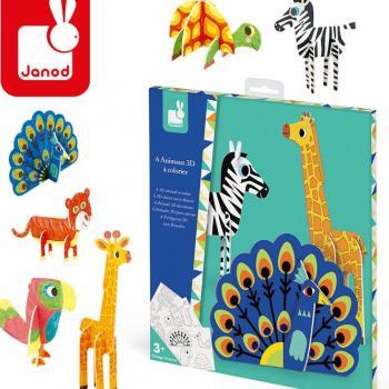 janod-zestaw-kreatywny-papierowe-zwierzeta-3d