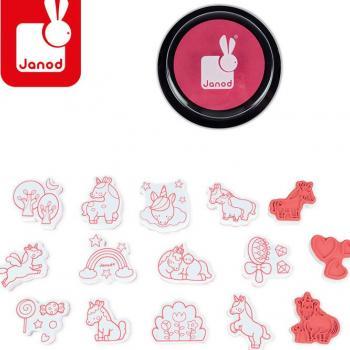 janod-zestaw-kreatywny-stempelki-jednorozce
