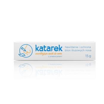 Katarek - Nawilżająca maść do nosa z prebiotykiem 15g | Esy Floresy