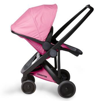 wozek-greentom-reversible-black-pink