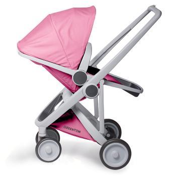 wozek-greentom-reversible-grey-pink