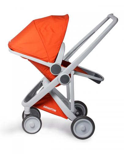 Greentom - Wózek Reversible grey - orange - Esy Floresy